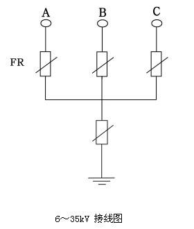 电路的三角形接法的实物图的接地线在哪里?