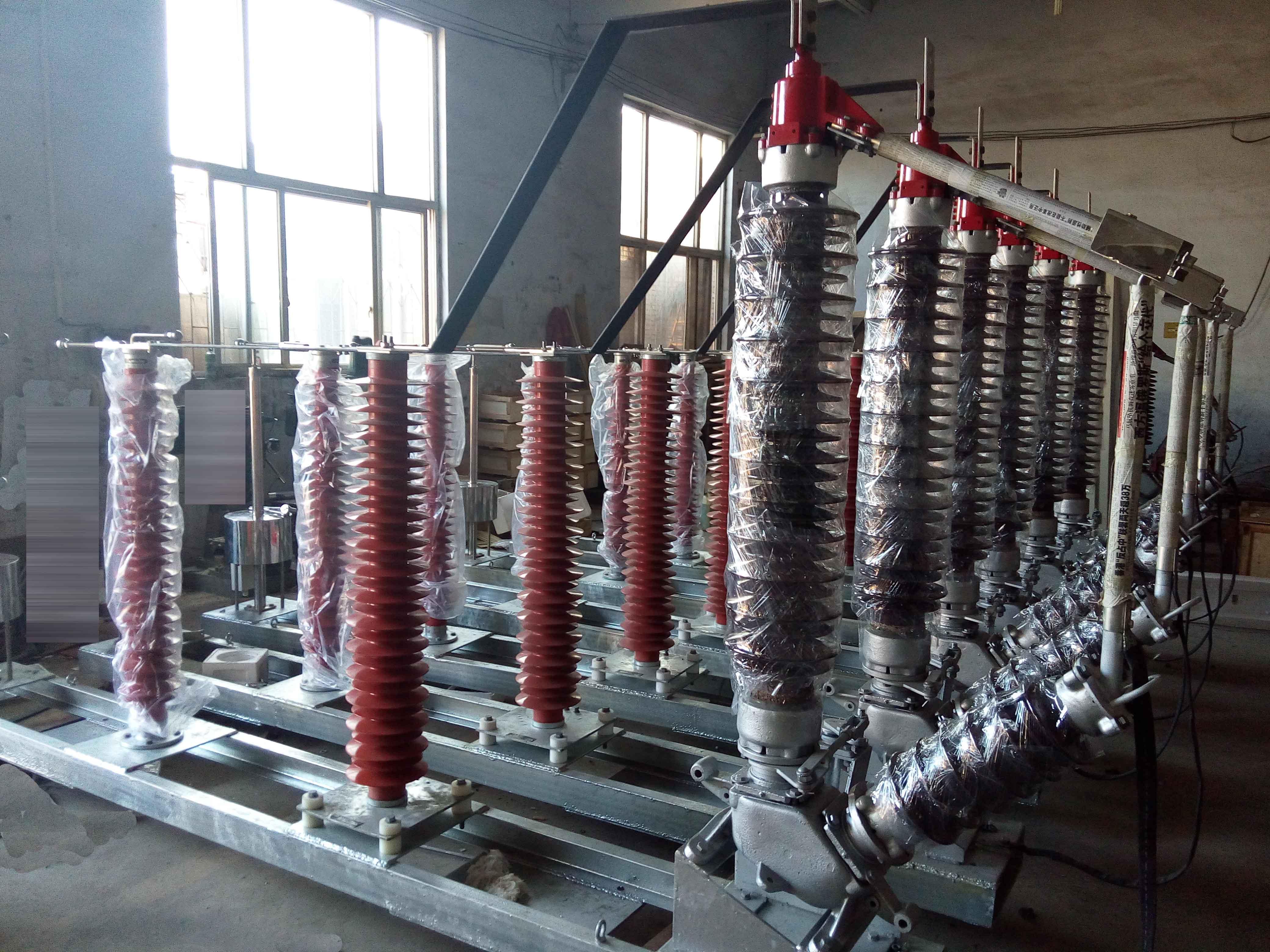 山东邹平电厂第三批主变中性点成套设备发货